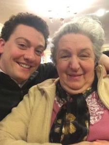 Matt with his grandmother, Ann Gavio (2015)